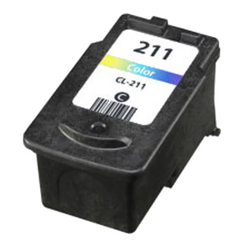 Replacement for Canon CL-211 CL211 Color Inkjet Cartridge INK-Canon-CL-211